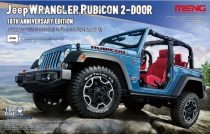 Meng Model Jeep Wrangler Rubicon 2-doors 10th Anniversary Edition makett