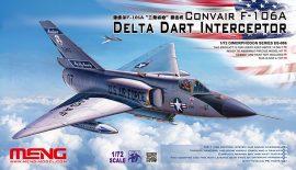 Meng Model CONVAIR F-106A Delta Dart Interceptor