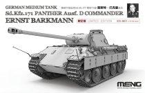 Meng Model Sd.Kfz.171 Panther Ausf.D Commander Ernst Barkmann makett