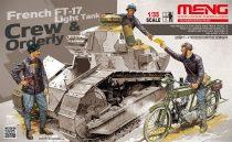Meng Model French FT-17 Light Tank Crew & Orderly