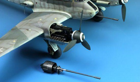 Meng Model Messerschmitt Me410B-2/U4 heavy fighter makett