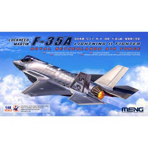 Meng Model Lockheed Martin F-35A Lightning II Fighter Royal Netherl AirForce makett
