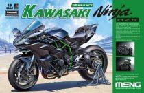 Meng Model Kawasaki Ninja H2R makett