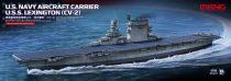 Meng Model U.S.Navy Aircraft Carrier U.S.S. Lexington (CV-2) makett