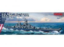 Meng Model U.S. Navy Battleship U.S.S. Missouri (BB-63)  makett