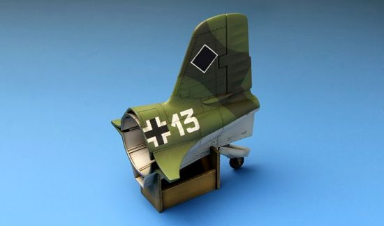 Meng Model Messerschmitt Me163B Komet Rocket-Powered makett