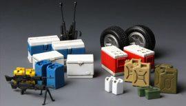 Meng Model Equipment for Modern U.S. Military Vehicles