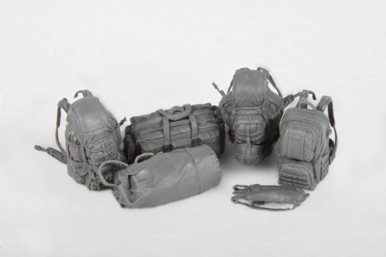 Meng Model Cool & Practical IDF Individual Load-Carrying Equipment