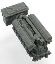 Meng Model Russian V-84 Engine (for TS-014 & TS-028 & all other T-72 Models)