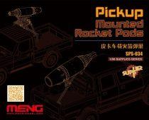 Meng Model Pickup Mounted Rocket Pods