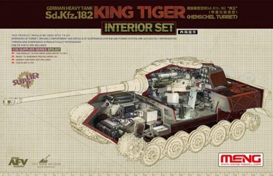 Meng Model German Sd.Kfz.182 King Tiger (Henschel Turret) Interior Set
