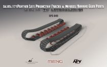 Meng Model Sd.Kfz.171 Panther Late Production Tracks & Movable Running Gear Parts