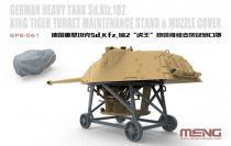 Meng Model German Heavy Tank Sd.Kfz.182 King Tiger Turret Maintenance StandΜzzle Cover