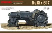 Meng Model GERMAN VsKfz 617 MINENRAUMER makett