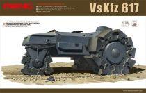 Meng Model GERMAN VsKfz 617 MINENRAUMER makett