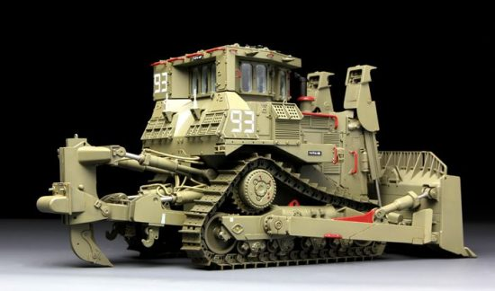 Meng Model D9R Armored Bulldozer