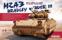 Meng Model M2A3 Bradley BUSK III IFV makett