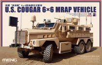 Meng Model U.S. Cougar 6x6 MRAP Vehicle makett