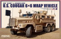 Meng Model U.S. Cougar 6x6 MRAP Vehicle