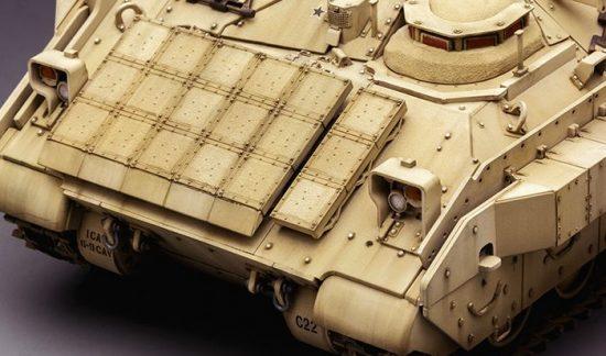 Meng Model M3A3 BRADLEY W/BUSK III U.S. CAVARLY FIGHTING VEHICLE makett