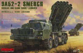 Meng Model Russian Long-Range Rocket Launcher 9A52-2 Smerch
