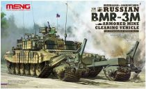 Meng Model Russian BMR-3M Armored Mine Clearing makett