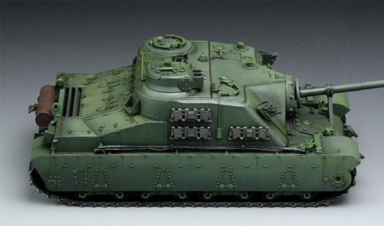 Meng Model British A39 Tortoise makett