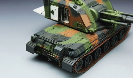 Meng Model French AUF1 155mm Self-propelled Howitzer