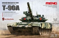 Meng Model Russian T-90A MBT makett
