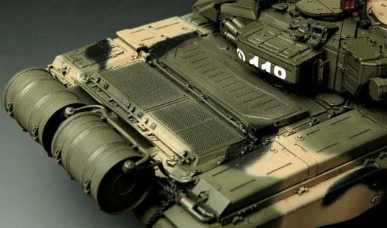 Meng Model Russian T-90A MBT makett