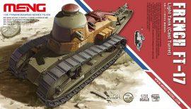 Meng Model French FT-17 Light Tank (Cast Turret)