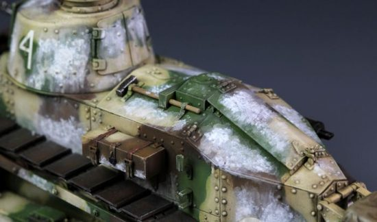 Meng Model French FT-17 Light Tank (Cast Turret) makett