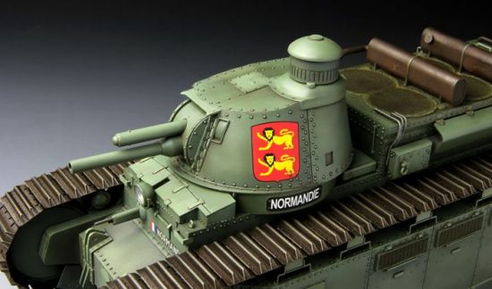 Meng Model French Super Heavy Tank Char 2C