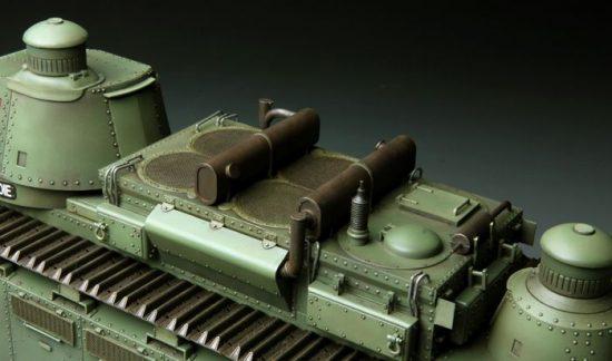 Meng Model French Super Heavy Tank Char 2C makett