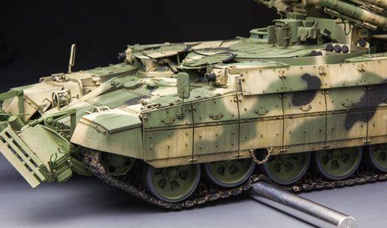 Meng Model Russian Terminator Fire Support Combat