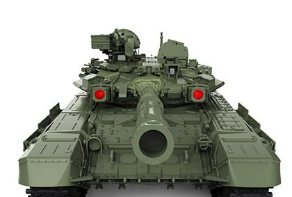 Meng Model Russian T-90 MBT W/TBD-86 TANK DOZER makett