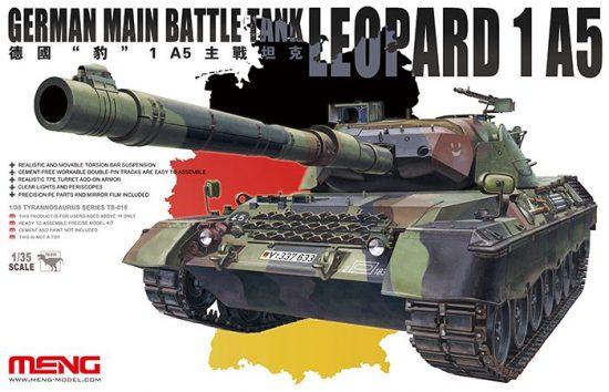 Meng Model German Leopard 1 A5 MBT makett