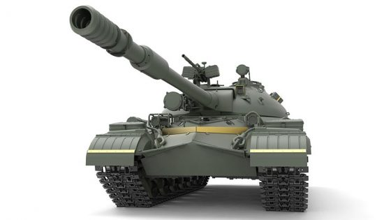 Meng Model Soviet T-10M Heavy Tank makett
