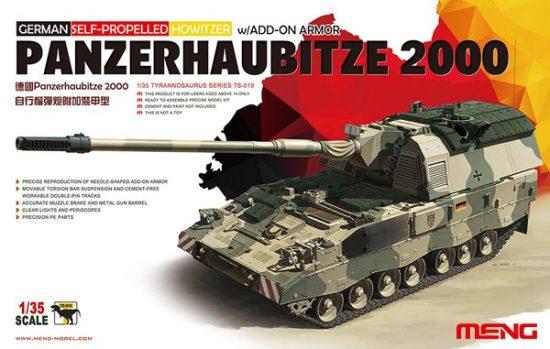 Meng Model German Panzerhaubitze 2000 Self-Propelle makett