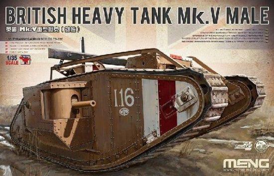 Meng British Heavy Tank Mk.V Male makett