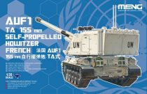 Meng Model French Auf1 TA 155mm SELF-Propelled How. makett