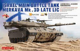 Meng Model Israel Main Battle Tank Merkava Mk.3D Late Lic