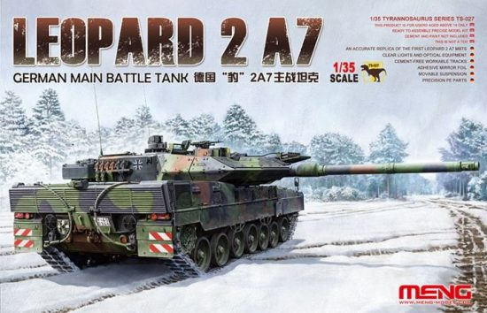 Meng Model Leopard 2 A7 makett