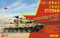 Meng Model PLA Main Battle Tank ZTZ96B makett