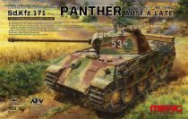 Meng Model SdKfz.171 Panther Ausf.A Late makett