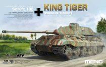 Meng Model Sd.Kfz.182 King Tiger (Porsche Turret) makett