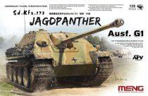Meng Model German Tank Destroyer Sd.KFZ.173 Jagdpanther G1 makett
