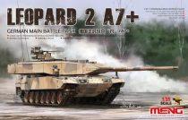 Meng Model German MBT Leopard 2 A7+ makett