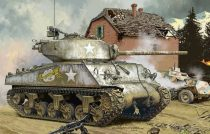 Meng Model U.S. Medium Tank M4A3 (76) W makett
