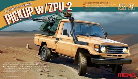 Meng Model PICKUP w/ZPU-2 makett